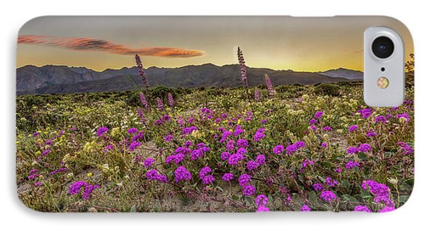 Super Bloom Sunset IPhone Case by Peter Tellone