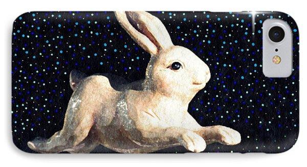 Super Bunny IPhone Case by Sarah Loft