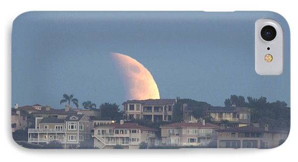 Super Moon Rise IPhone Case by Loriannah Hespe