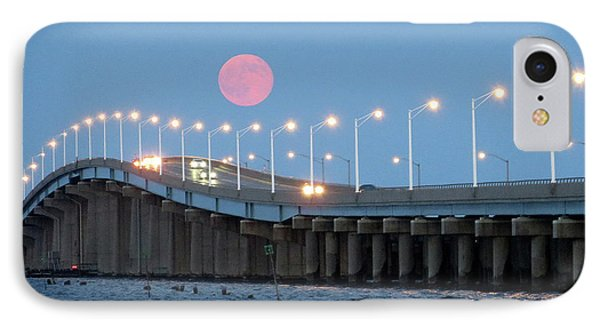 Super Moon  IPhone Case by Robert Henne
