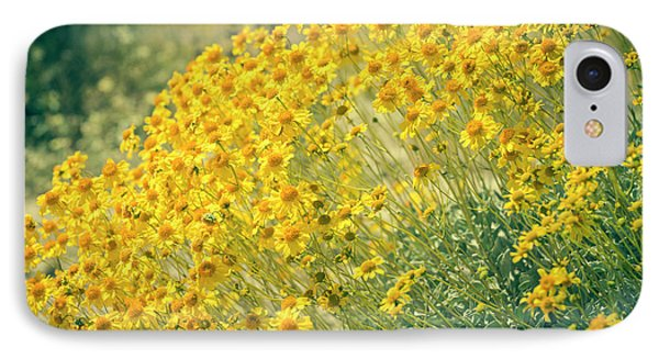 Superbloom Golden Yellow IPhone Case by Amyn Nasser