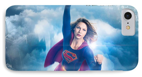Supergirl 2016 IPhone Case by F S