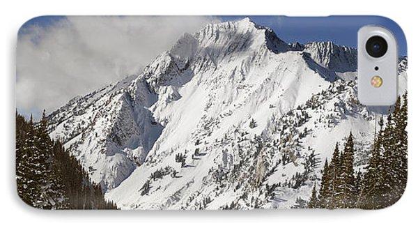 Superior Peak Wasatch Mountains Utah Panorama IPhone Case