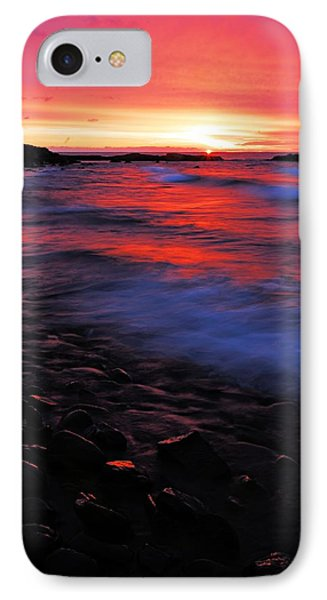 Superior Sunrise IPhone Case by Larry Ricker