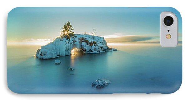 Superior Sunrise // North Shore, Lake Superior  IPhone Case by Nicholas Parker
