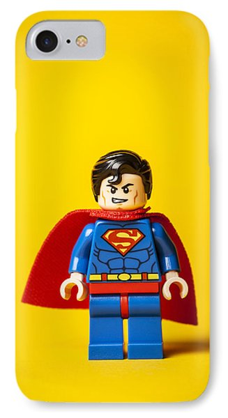 Superman - Man Of Steel IPhone Case by Samuel Whitton