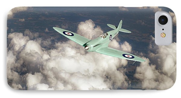 IPhone 7 Case featuring the photograph Supermarine Spitfire Prototype K5054 by Gary Eason