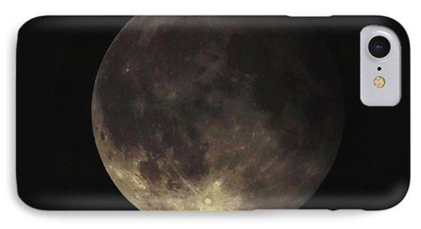 IPhone Case featuring the photograph Supermoon Blood Moon 001 by Lance Vaughn