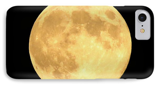 Supermoon Full Moon IPhone Case by Kyle West