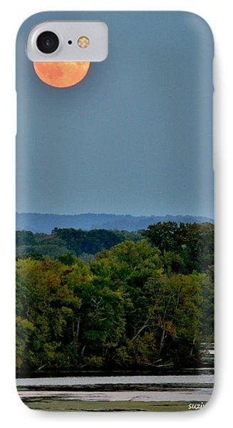 Supermoon On The Mississippi IPhone Case