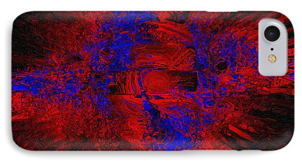 IPhone Case featuring the digital art Supernova by Charmaine Zoe