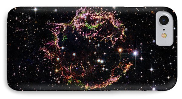 Supernova Remnant Cassiopeia A IPhone Case by Marco Oliveira