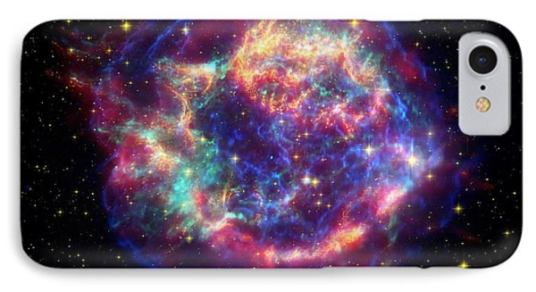 Supernova Remnant Cassiopeia A Phone Case by Stocktrek Images