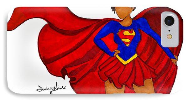Superwoman I Am  IPhone 7 Case by Diamin Nicole
