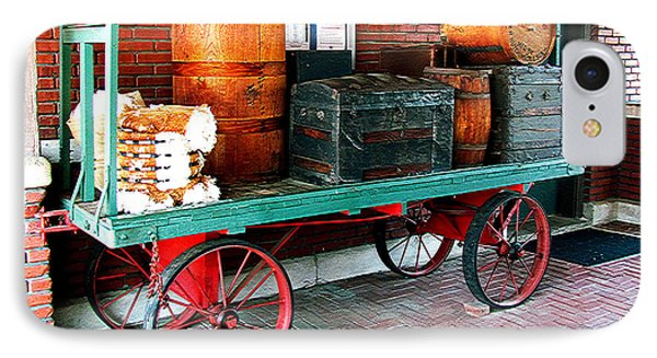 Supply Wagon IPhone Case by Steve C Heckman