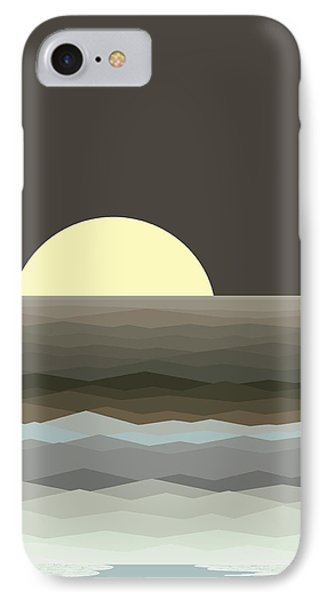 Surf At Moonrise IPhone Case