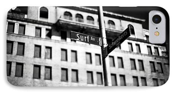 Surf Avenue Coney Island IPhone Case