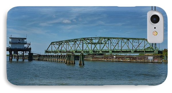 Surf City Swing Bridge - 1 IPhone Case