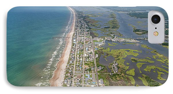 Surf City Topsail Island Longview IPhone Case by Betsy Knapp