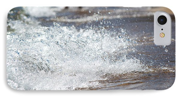 Surf Crashing Phone Case by Lisa Knechtel