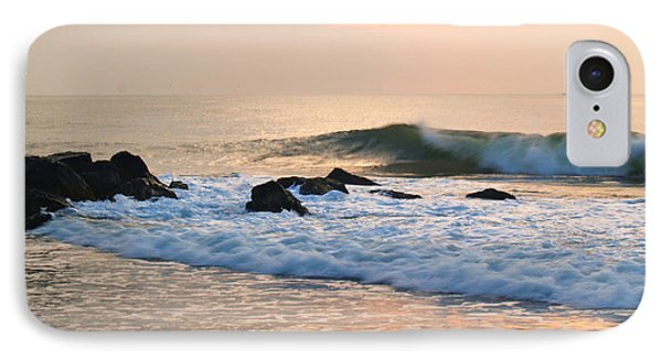 Surf In Peachy Ocean Grove Sunrise IPhone Case