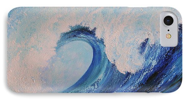 IPhone Case featuring the painting Surf No.2 by Teresa Wegrzyn