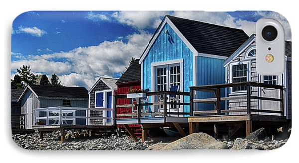 Surf Shacks IPhone Case by Tricia Marchlik