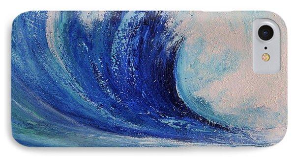 Surf IPhone Case by Teresa Wegrzyn