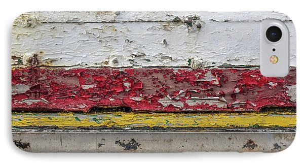 Surface With Peeling Paint IPhone Case by Carlos Caetano