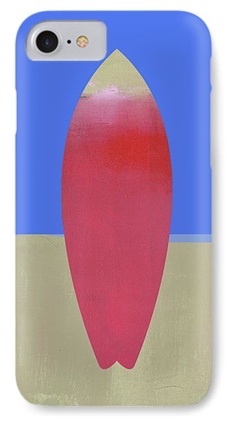 Surfboard Art IPhone Case by Jacquie Gouveia