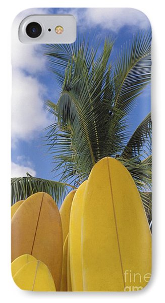 Surfboard Concession Phone Case by Bob Abraham - Printscapes