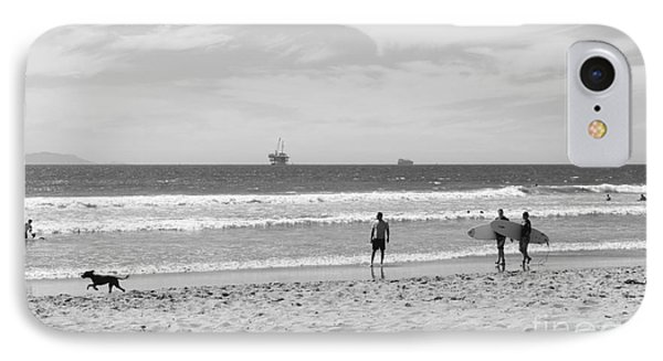 Strollin On Dog Beach IPhone Case