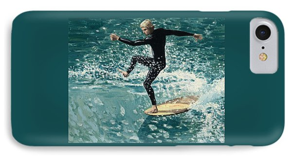 Surfer IPhone Case by Andrew Palmer