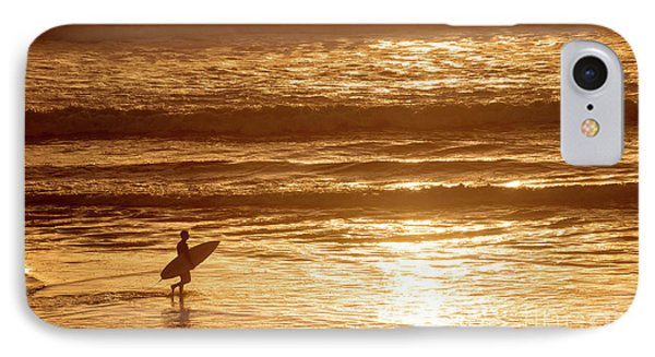 IPhone Case featuring the photograph Surfer by Delphimages Photo Creations