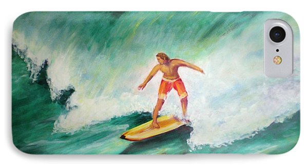 Surfer Dude IPhone Case by Patricia Piffath