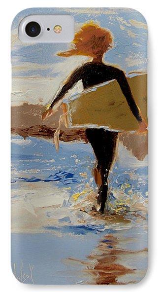 Surfer Girl Phone Case by Barbara Andolsek