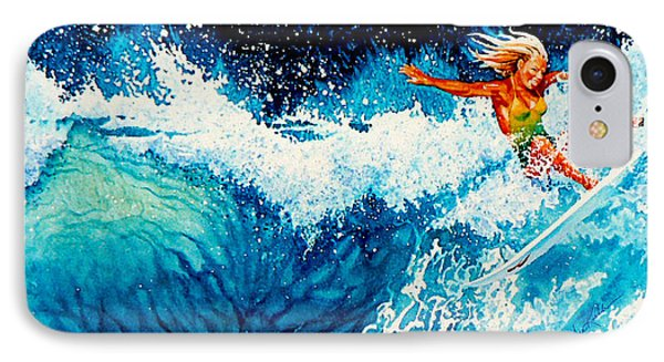 Surfer Girl Phone Case by Hanne Lore Koehler