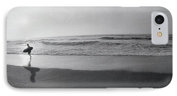 Surfer, San Diego, California, Usa IPhone Case by Panoramic Images