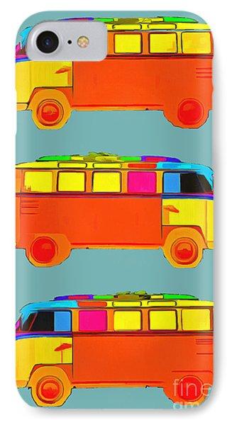 Surfer Vans IPhone Case by Edward Fielding
