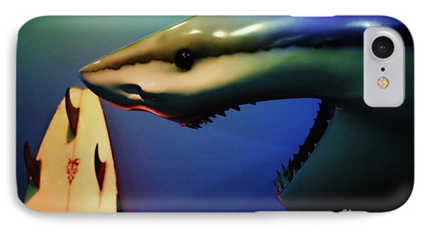 Surfers Beware IPhone Case by Craig Wood