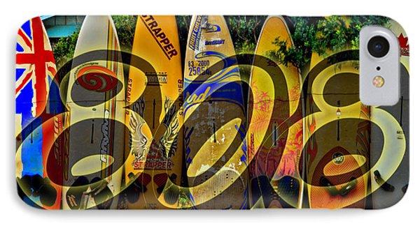 Surfin' 808 IPhone Case by DJ Florek