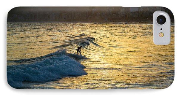 Surfing In Rio IPhone Case
