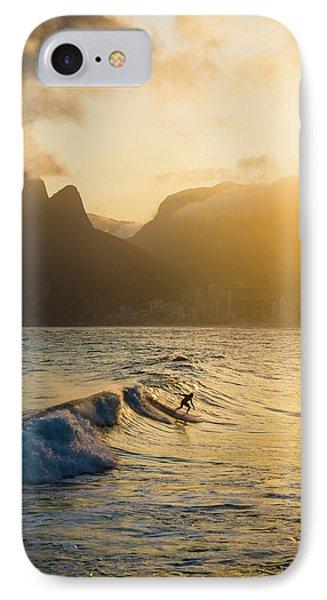 Surfing Magic IPhone Case