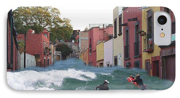 IPhone Case featuring the photograph Surfing Quebrada by John  Kolenberg