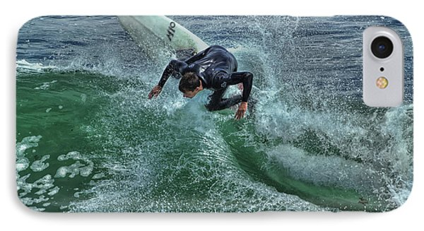 Surfing Steamers IPhone Case by Paul Gillham