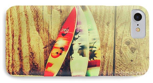 Surfing Still Life Artwork IPhone Case