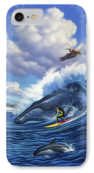 Pelican iPhone 7 Case - Surf's Up by Jerry LoFaro