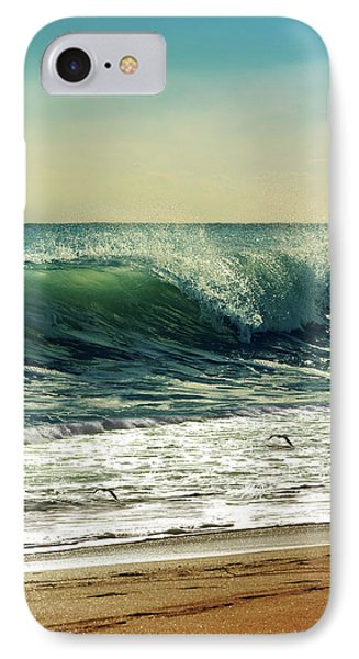 IPhone Case featuring the photograph Surf's Up by Laura Fasulo