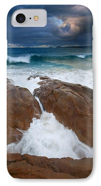 Surfs Up Phone Case by Mike  Dawson