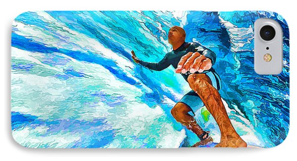 Surf's Up With Kelly Slater IPhone Case by ABeautifulSky Photography